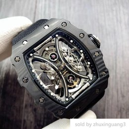 $enCountryForm.capitalKeyWord Australia - Luxury watch Stylish Dynamic Men Watch. Case Is Made Of Tpt Carbon Fiber Strong Anti-shock And Damage Resistance. With The Original Import