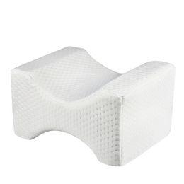 Ортопедическая подушка для колена для облегчения ишиаса, боли в спине, боли в ногах, беременности, бедра и суставов - пена с эффектом памяти на Распродаже