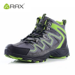 Camp Shoes For Men Australia - Rax Camping Hiking Shoes For Men Breathable Mountain Climbing Shoes Outdoor Anti-Skid Sneakers Men Wearable Trekking Boots D0543 #325720