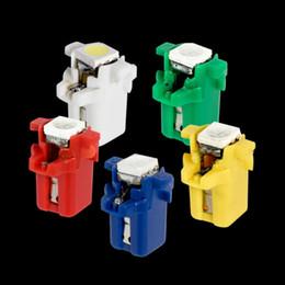 $enCountryForm.capitalKeyWord Australia - Car dashboard color LED light B8.3 T5 Wound wire LED instrument panel light 5050 patch Instrument bulb 12V