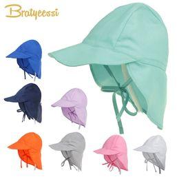 e4b66a81fb8636 Spf 50+ Sun Adjustable Summer Cap For Boys Travel Beach Baby Girl Hat Kids  Infant Accessories Children Hats S l C19041302