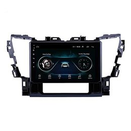 radio for toyota NZ - 10.1 inch Car Radio Android 9.0 Car Video Player with Navigation Auto Android and Music System for Toyota Alphard 2015 2016