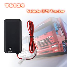 Wholesale e tracks for sale – custom T6124 Smart GPS Tracker for vehicle Motorcycle and E bile Power cut alert Real Time Tracking Device Built in Motion Sensor