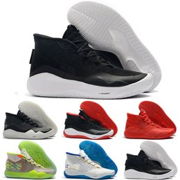online retailer deb5c 8826a Hot Mvp Kevin Durant KD 12 Anniversary University 12S XII Oreo Men Outdoor  Shoes USA Elite KD12 Sport Sneakers Size 7-12