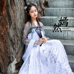 $enCountryForm.capitalKeyWord Australia - 2019 New Embroidered Hanfu National Costume Ancient Cosplay Han Tang Women Chinese Folk Dance Clothes Lady Stage Dress DWY1904