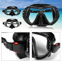 Hyperopia Glasses Australia - Unisex Tempered Glass Diving Mask 3 Types Tempered Glass Hyperopia Myopia Snorkeling Swimming Goggles Highest Grade Silicone