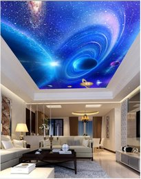$enCountryForm.capitalKeyWord Australia - Custom Large Ceiling Zenith Mural Photo Wallpaper Planetary track ceiling zenith mural decorative wall sticker Papel de parede