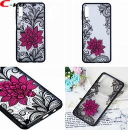 cases for s6 edge plus 2019 - Lotus Flower TPU PC Hard Case For Samsung Galaxy A7 2018 A6S S9 S8 Plus S7 S6 Edge NOTE9 NOTE8 J8 EU J3 J5 J7 Floral Man