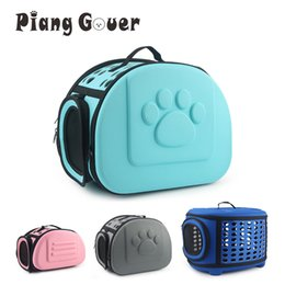 $enCountryForm.capitalKeyWord Australia - Eva Pure Pet Carrier Portable Outdoor Solid Color Cat Foldable Dog Travel Pets Bag Puppy Carrying Shoulder Bags S m l Q190523