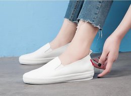 Korean nude shoes online shopping - New small white shoes Korean casual fashion shoes Classic Canvas Shoes