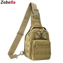Cooler Handbags Australia - Men Women Military Bag Tactical Chest Bags Unisex Fashion Camouflage Handbags Cool Camping Hiking Travel Shoulder Bags