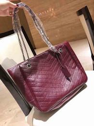 Free shipping new arrival tote shopping shoulder bag large capacity tote flap bag fashion handbag 40cm crossbody bags on Sale