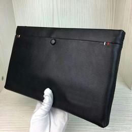 $enCountryForm.capitalKeyWord Australia - Black Leather Mens Clutch Bag Business Handbag Men Wallet Simple Man Clutch Purse Brand Big Capacity Men Wallets