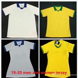 a51a16522 América Brasil 2019 2020 camisa de futebol COUTINHO FIRMINO NEYMAR JR  camisa de futebol brazil jersey 2020 yellow white soccer jerseys home and  away men ...