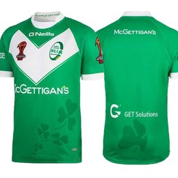 cabc7fa4eef Ireland Rugby Jerseys Canada - best quality Ireland green Rugby Jersey Shirt  2017 Season Ireland Mens