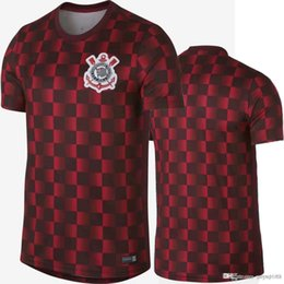 595ca316c3b Soccer Training Shirts UK - 2019 Paulista Pre match Soccer Jersey 19 20 Training  Shirt Football