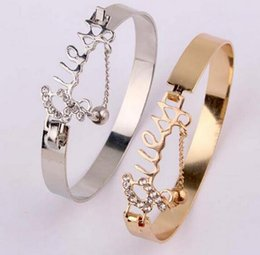 $enCountryForm.capitalKeyWord Australia - Fashion Jewelry Love Exquisite Bracelet Accessory Rhinestone Decor Stylish Hand Chain Ring Drop Shipping