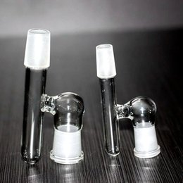 Glass Female Adapter Australia - H Glass Drop down Dropdown Adapter For Bong 14 male to female 18 male to female oil rigs adapters for glass water pipe