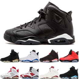 $enCountryForm.capitalKeyWord Australia - 6 Wholesale Vi Mens Basketball Shoes Black Cat Infrared Unc Angry Bull Marron Alternate Man 6s Sports Shoes Sneaker Trainers Size 7-13