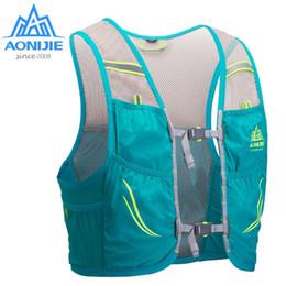 Racing Harnesses NZ - AONIJIE C932 Hydration Pack Backpack Rucksack Bag Vest Harness Water Bladder Hiking Camping Running Marathon Race Climbing 2.5L #474125
