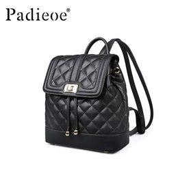 Опт Padieoe mini backpack bags for women backpack waterproof school bookbag leather Retro fashion travel