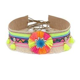 Cintura da donna Bohemian Nappa Boho con frange Shell Summer Beach Accessori moda Cintura di decorazione femminile per abito