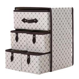 $enCountryForm.capitalKeyWord Australia - OUNONA Non-woven Three Layer Five Drawer Classified Storage Box Container Organizer