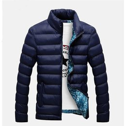 quilted parka men Australia - Plus Size New Winter Jackets Parka Men Autumn Winter Warm Outwear Brand Slim Mens Coats Casual Windbreaker Quilted Jackets Men