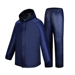 Body Suits Adults Australia - Battery motorcycle riding raincoat rain pants men and women adult suit work site body waterproof #220055