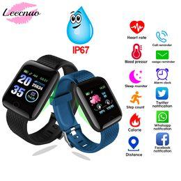 $enCountryForm.capitalKeyWord Australia - Smart Bracelet Blood Pressure Measurement Waterproof Fitness Tracker Watch Heart Rate Monitor Pedometer Smart Band Women Men