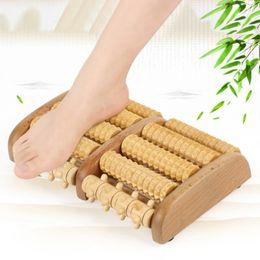 $enCountryForm.capitalKeyWord Australia - 2018 Newly Dual Wooden Foot Massager Roller Plantar Heel Arch Pain Stress T190714