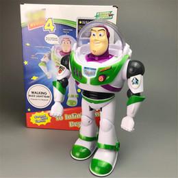 Ingrosso Toys Serie 4 Walking Doll FUNKO POP Buzz Light INYear Modello commemorativo Un animale domestico elettronico Con luce e suono