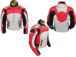 $enCountryForm.capitalKeyWord Australia - Blue Red Motorcycle Riding jacket A stars Motorcycle Motorcross Oxford 600D Textile Riding Jacket with Back Cowl