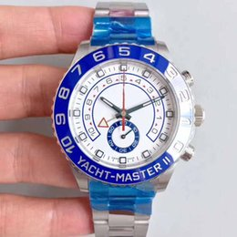 CeramiC Chronograph men watCh online shopping - box Men s Luxury Products Quality Classic mm Blue Ceramic Chronograph Work Swiss ETA Movement Automatic Men Watch