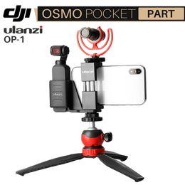 Dji holDer online shopping - Ulanzi Dji Osmo Pocket Accessories Handheld Gimbal Phone Mount Clip Holder for Osmo Pocket Fixed Bracket VS PGYTECH