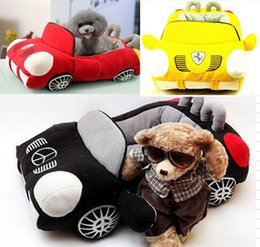 kennels pens Australia - Car Shaped Pet Cushion Dog Bed House Bed Cat Bed Cushion Kennel Pens Doggy Puppy Sofa Sleeping Bag Warm Free Shipping 1PC01