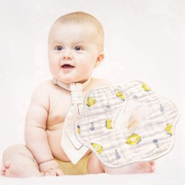 Waterproof toWels online shopping - Infant saliva towel Degree Rotating Toddler Waterproof Scarf cotton baby girl burp cloths