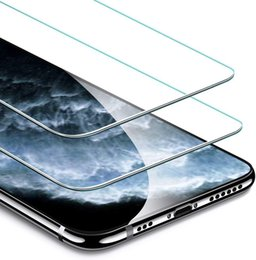 iphone tempered premium hd NZ - Screen Protector Compatible For iPhone 11 Pro iPhone Xs Xs Max 6 7 8 HD Clarity 9H Hardness Explosion-proof Premium Tempered Glass Film
