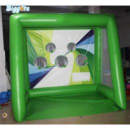 Football Yard Australia - YARD Commercial Grate PVC Tarpaulin Inflatable Soccer Football Goal Gate Kick Shooting Fun Game For Sale