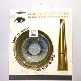 Christmas Liquid Eyeliner Australia - 23style Magnetic Liquid Eyeliner for Magnetic Eyelashes (Eyeliner + three Magnetic Magnet eyelashes) Glue Free False Eyelashes
