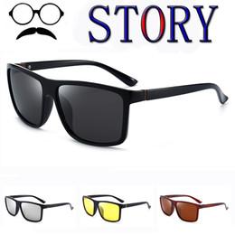 Brand Design Polarized Sunglasses Men Driving Retro Outdoor coating Sports  UV400 Goggle fishing Eyewear oculos de sol masculino ff353c9837