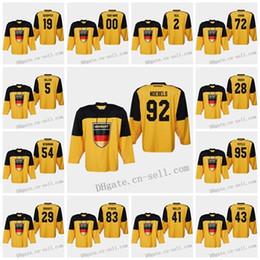 $enCountryForm.capitalKeyWord Australia - Germany 2019 IIHF World Championship Hockey Jersey 29 Leon Draisaitl 50 Patrick Hager 91 Moritz Muller 28 Frank Mauer 5 Korbinian Holzer