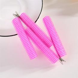 Heated Roller Hair Australia - 3pcs set Hook & Loop Hair Rollers Clamp DIY Wave Curly Hair Making Curler Self-Adhesive Roller Sleep Styler Styling Tools U1107