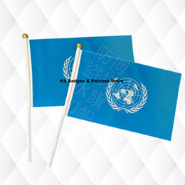$enCountryForm.capitalKeyWord Australia - United Nation Hand Held Stick Cloth Flags Safety Ball Top Hand National Flags 14*21CM 10pcs a lotLesotho