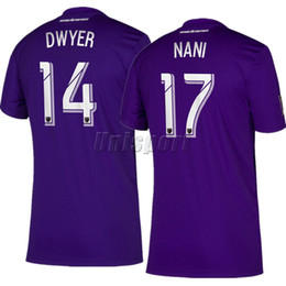 15446f10a 2019 Orlando City Home Away Soccer Jerseys Nani Dwyer Futbol Camisa MLS  Football Camiseta Shirt Kit Maillot