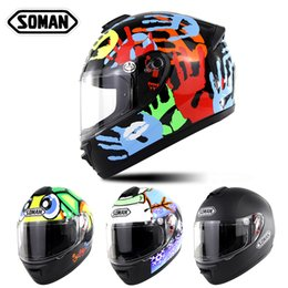 $enCountryForm.capitalKeyWord Australia - Personalized Motorcycle Full Face Helmet Downhill Racing Helm Off Road MX Motocross Helmet DOT Approval SM962