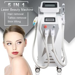 Wholesale 2020 professional shr Elight ipl shr nd yag tattoo removal machines ipl elight hair removal machine FDA approved