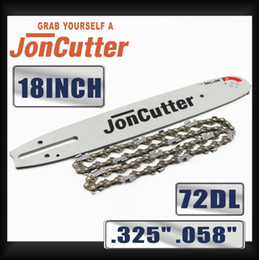 $enCountryForm.capitalKeyWord Australia - 18 inch .325 .058 72DL Saw chain and Guide Bar Combo For JonCutter G4500 Chainsaw