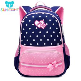 cheap bags for kids Australia - SUN EIGHT New 2018 School Bags for Girls Brand Women Backpack Cheap Shoulder Bag Wholesale Kids Backpacks Fashion S200107