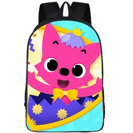 Backpack Zoo Canada - Pinkfong backpack The phonics zoo day pack Pink fong school bag Leisure packsack Photo rucksack Sport schoolbag Outdoor daypack